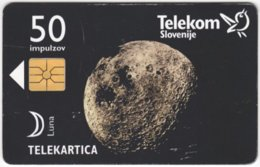SLOVENIA B-544 Chip Telekom - Universum, Moon - Used - Slovénie