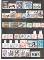 Année 1971 Complète (sauf Blocs Et Timbres De Carnets) - Obl/gest/used (à Voir 2 Scans) - Usati