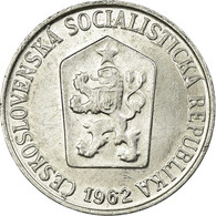 Monnaie, Tchécoslovaquie, Haler, 1962, TTB, Aluminium, KM:51 - Tschechoslowakei