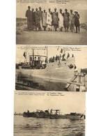 """6 Très Anciennes Cartes Postales """"Est Africain Allemand"""" (occupation Belge) à Voir - Congo Belge - Autres"""