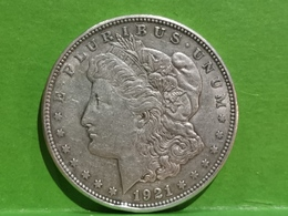"""1 Dollar """"Morgan Dollar"""" 1921 - Federal Issues"""