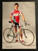 Frederic Vichot - Helvetia Versicherungen 1989 - Carte / Card - Cyclists - Cyclisme - Ciclismo -wielrennen - Wielrennen