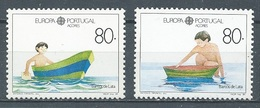 Portugal Açores YT N°391/392 Europa 1989 Jeux D'enfants Neuf ** - 1989