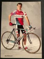 Niki Ruttiman - Helvetia Versicherungen 1989 - Carte / Card - Cyclists - Cyclisme - Ciclismo -wielrennen - Cycling