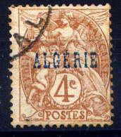 ALGERIE  - 5° - TYPE BLANC - Oblitérés