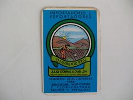 O Lavrador Ideal Almada Portugal Portuguese Pocket Calendar 1987 - Calendriers