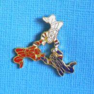1 PIN'S //  ** PARACHUTISME / ÉQUIPE DE FRANCE SAUT LIBRE ** . (J.Y. Ségalen Collection) - Paracadutismo