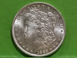 """1 Dollar """"Morgan Dollar"""" 1885 - Federal Issues"""