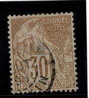 LOT 272  COLONIES GENERALES YT 55 TONKIN - France (ex-colonies & Protectorats)