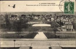 Cp Juvisy Sur Orge Essonne, Panorama, Flieger - Autres Communes