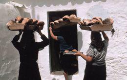 Bakers Ladies Bread Makers Castro Marim Algarve Portugal Award Photo Postcard - Non Classificati