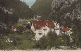 Chatelard Frontiere Early Switzerland Aerial Colour Postcard - Non Classés