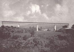 Gustave Eiffel Tower French Railway Engineer De Villa Mea Portugal Viaduct Postcard - Non Classificati