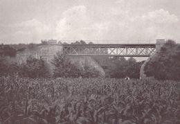 Gustave Eiffel Tower French Railway Engineer Ponte Do Neiva Portugal Bridge Postcard - Non Classificati