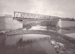 Gustave Eiffel Tower French Railway Engineer Ponte Do Ancora Portugal Bridge Postcard - Non Classificati