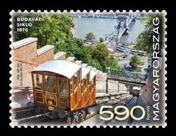 Hungary 2020 Mih. 6131 Buda Castle Funicular In Budapest MNH ** - Hungary