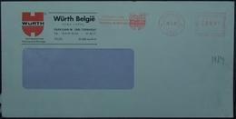 Belgium - Advertising Meter Franking Cover 2001 Turnhout Logo Wurth PBU1921 - 2000-...