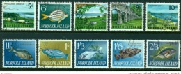 "-Norfolk Islands-1962-""Overlooking Kingston"" Cancelled - Norfolk Island"