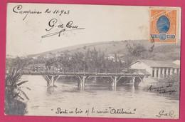 Campinas Ponte Em Madeira Sobre O Rio Atibaia, 1908, Brasil, ( São Paulo) - São Paulo