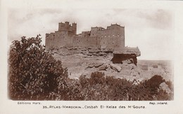 Carte Postale. Maroc. Atlas. Casbah El-Kelaa Des M'gouna. Ecrite. 1933. - Monuments