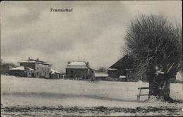 Cp Avocourt Meuse, Franzerhof, Ansicht Im Winter, Gebäude - France
