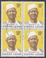 Sierra Leone, Scott #429, Used, President Stevens, Issued 1972 - Sierra Leone (1961-...)