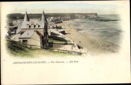 Cp Arromanches Calvados, Vue Générale - Autres Communes