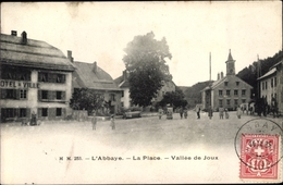 Cp L'Abbaye Kanton Waadt, Place, Vallée De Joux - VD Vaud