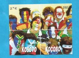 2006  EUROPA CEPT KOSOVO SERBIEN PART SERBIA   INTEGRATION 10 X  BLOK  MNH - Europa-CEPT