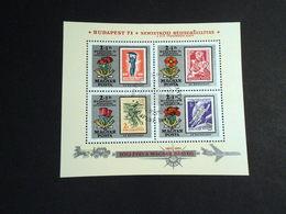 Hungary 1971 International Stamp Exhibition BUDAPEST 71 - Ungarn
