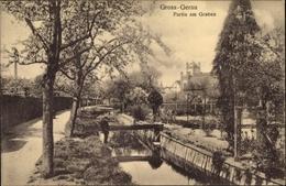 Cp Gross Gerau, Partie Am Graben, Steg, Gärten, Parzellen, Ufer - Otros
