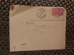 Akbou Pour Alger ( Le 21 01 1941) Algérie - Lettres & Documents