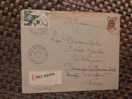 Mac-Mahon Pour Drôme ( Le 16 05 1949) Algérie - Lettres & Documents
