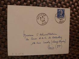 Duvivier Pour Paris ( Le 03 03 1958) Algérie - Lettres & Documents