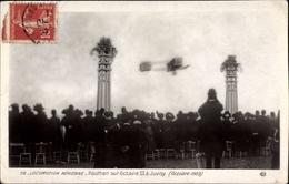 Cp Locomotion Aerienne, Paulhan Sur Octavie III A Juvisy, Octobre 1909 - Autres Communes