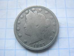 United States , 5 Cents 1907 - EDICIONES FEDERALES