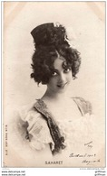 Melle SAHARET PRECURSEUR 1903 TBE - Artistes