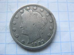 United States , 5 Cents 1903 - EDICIONES FEDERALES