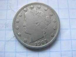United States , 5 Cents 1909 - EDICIONES FEDERALES