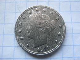 United States , 5 Cents 1910 - EDICIONES FEDERALES