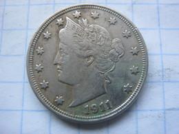 United States , 5 Cents 1911 - EDICIONES FEDERALES
