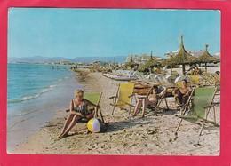 Modern Post Card Of Arenal,Mallorca,Balearic Islands, Spain,A64. - Mallorca