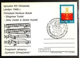 32269 - IGRZYSKA XIV OLIMPIADY - Briefe U. Dokumente