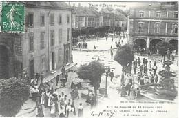 RAON L ETAPE VOSGES - LA BAGARRE DU 28 JUILLET 1907, AVANT LA CHARGE, MENACES A L ARMEE A 3 HEURES 40 - WELCK SAINT DIE - France