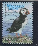 FRANCE 2012 ADHESIF MACAREUX  OBLITERE  YT 712                     - - Frankreich