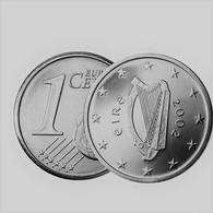 MONNAIE IRLANDE - PIECE De 1 Cent - 2002 Euro Fautée Non Cuivrée Etat Superbe - Variétés Et Curiosités