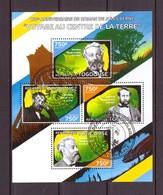 TOGO 2014 JULES VERNE  Y N°4044/47  OBLITERE - Writers