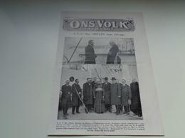 """Origineel Knipsel ( 2390 ) Uit Tijdschrift """" Ons Volk """"  1926 :  Mgr. Heylen   Casterlé  Casterlee  Kasterlee - Vieux Papiers"""