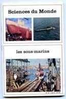 Revue SCIENCES DU MONDE  Les Sous Marins N° 61 1969 - Science