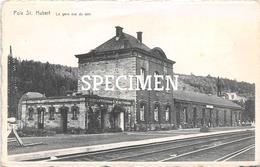 La Gare Vue Du Quai - Poix-Saint-Hubert - Saint-Hubert